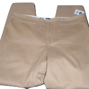 Tan Gapstretch Pants Size 14, Cotton